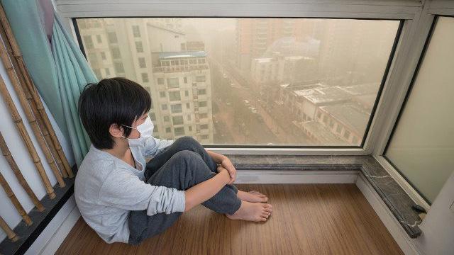 Ngăn chặn bụi PM2.5 vào nhà Bạn